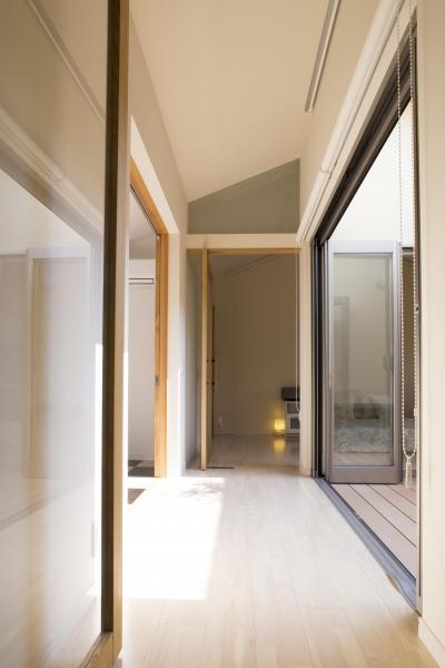 廊下 (京都市T邸)