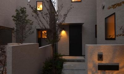 中村プロジェクト-注文住宅同様に丁寧につくりあげた5棟の建売住宅- (外観)