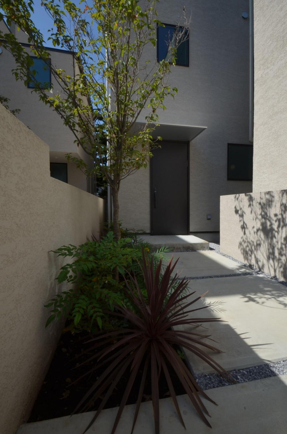 中村プロジェクト-注文住宅同様に丁寧につくりあげた5棟の建売住宅- (A棟外観)