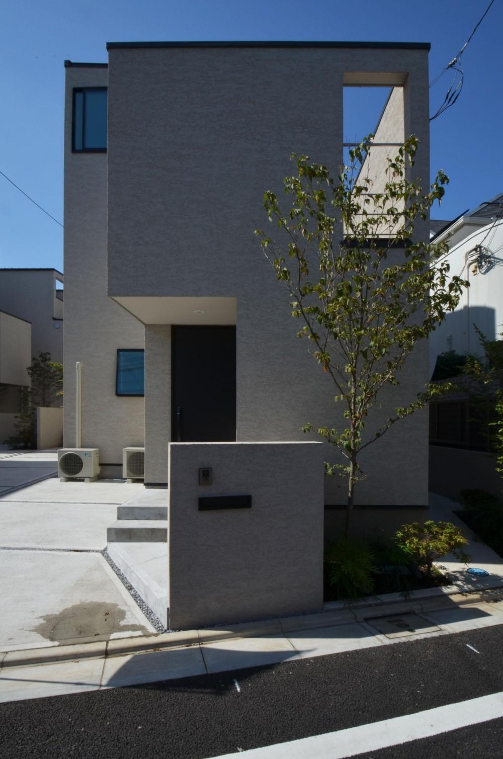 中村プロジェクト-注文住宅同様に丁寧につくりあげた5棟の建売住宅- (B棟外観)