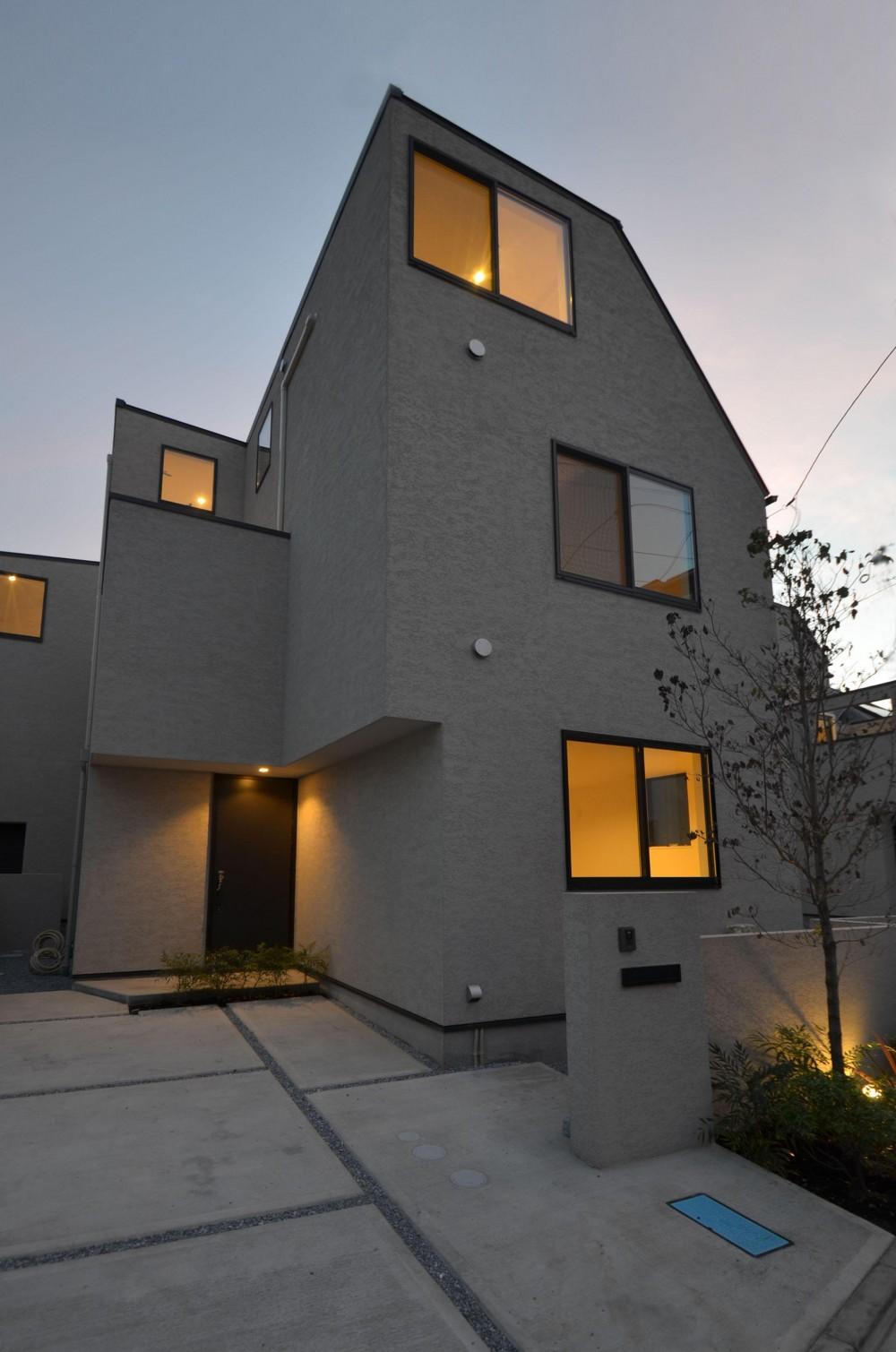 中村プロジェクト-注文住宅同様に丁寧につくりあげた5棟の建売住宅- (C棟外観)