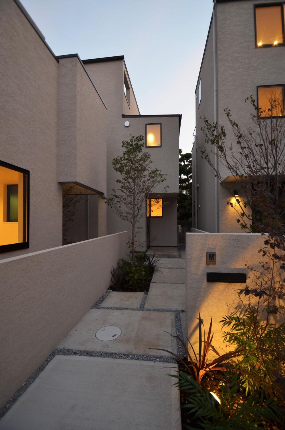 中村プロジェクト-注文住宅同様に丁寧につくりあげた5棟の建売住宅- (E棟外観)
