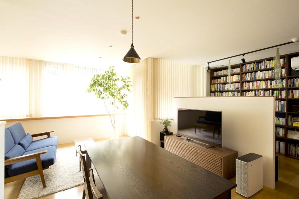 スタイル工房「S邸・こだわりの書斎スペースがあるリビング」