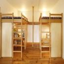 子供スペース(造作ロフトベッド)