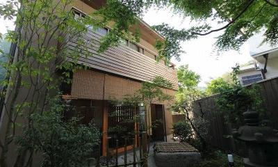 『米倉』二階堂Y邸 (東庭から見る)