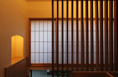 障子・木格子 (『米倉』二階堂Y邸)