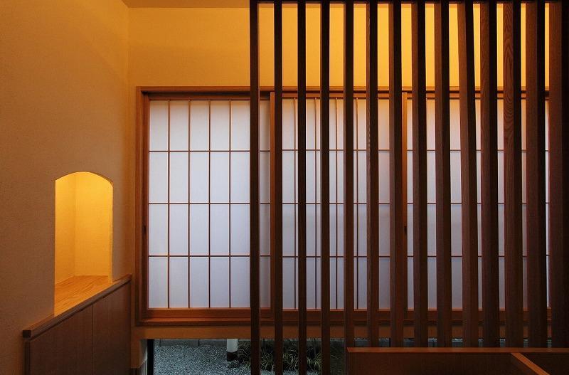『米倉』二階堂Y邸 (障子・木格子)