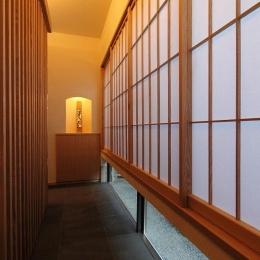 『米倉』二階堂Y邸 (地窓のある廊下)