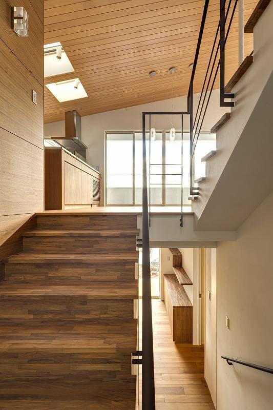 Moby Dickの部屋 各フロアを繋ぐ階段