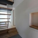 吊構造の階段