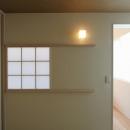 障子の室内窓