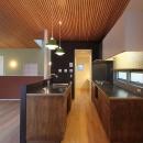 平林 繁の住宅事例「天蓋のある家」