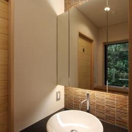 笹谷の家 (洗面台)