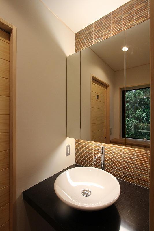 笹谷の家の写真 洗面台