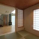 笹谷の家の写真 リビングと繋がる琉球畳を敷いた和室