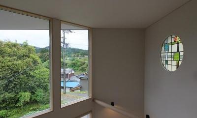 笹谷の家 (ステンドグラス)