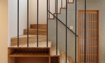 笹谷の家 (箱階段)