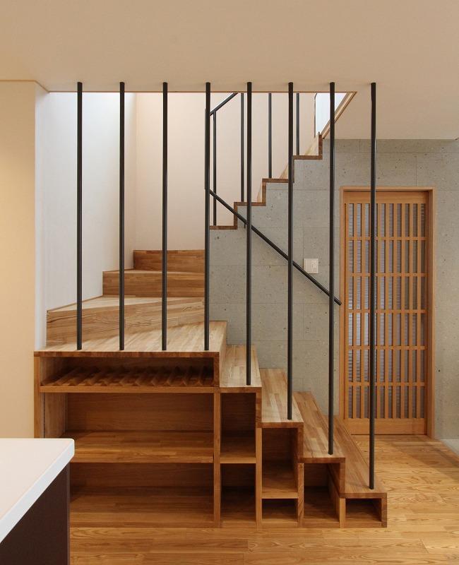 笹谷の家の写真 箱階段