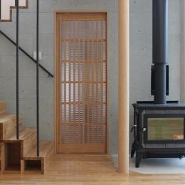 笹谷の家 (箱階段・薪ストーブ)