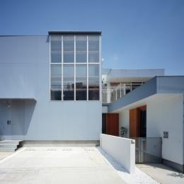 格子の家 (外観)
