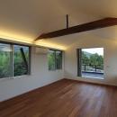 Yokono ARKの写真 梁の見える洋室
