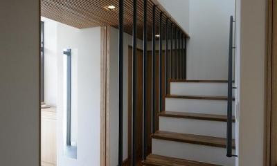 玄関・階段|Yokono ARK
