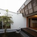 Yokono ARKの写真 中庭から望む