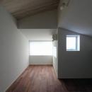 桜台の呼吸する家の写真 屋根裏部屋