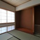 桜台の呼吸する家の写真 床の間のある和室