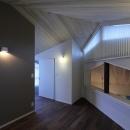 桜台の呼吸する家の写真 2階ホール