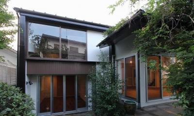 桜台の呼吸する家 (外観)
