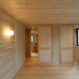 8畳の寝室