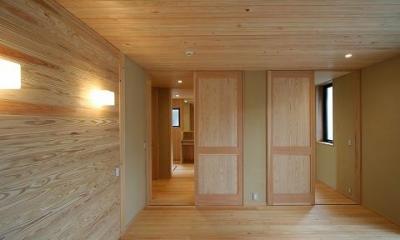 8畳の寝室|SKY FIELD HOUSE