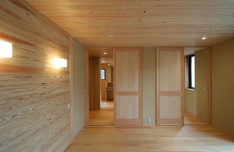 SKY FIELD HOUSEの部屋 8畳の寝室