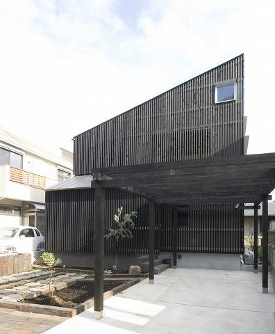 SKY FIELD HOUSEの部屋 前庭(駐車スペース)・外観