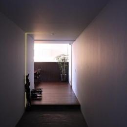 HO邸 (土間のある玄関)
