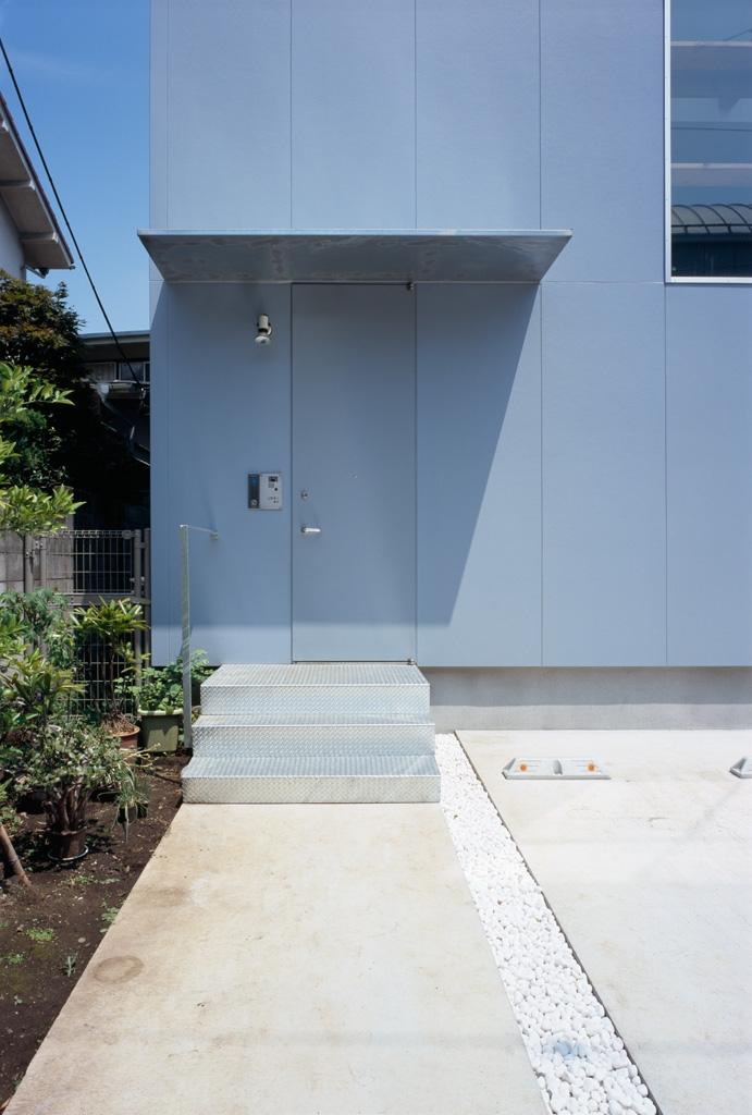 格子の家の写真 玄関