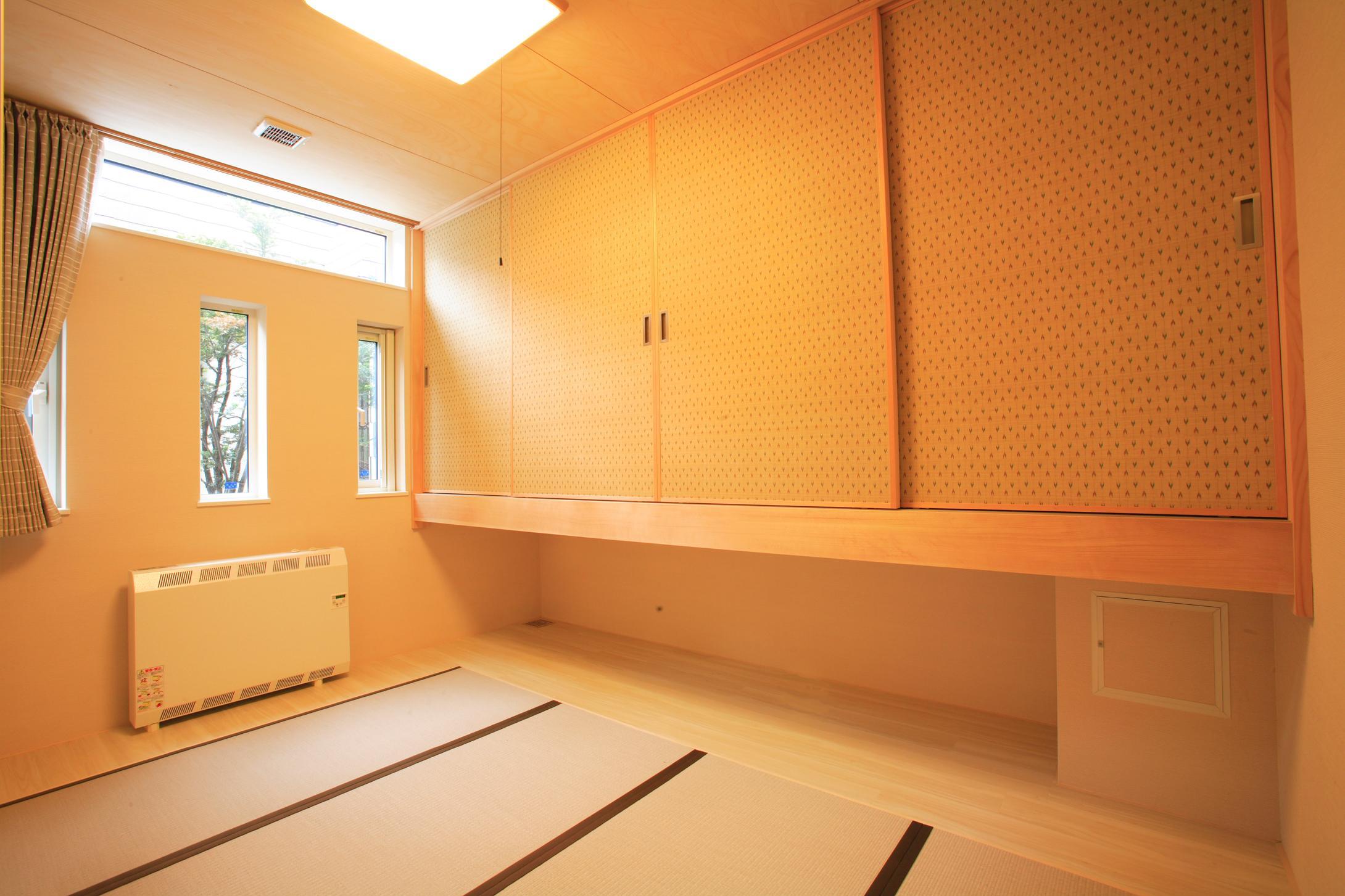 発寒ハウスの写真 収納のある和室