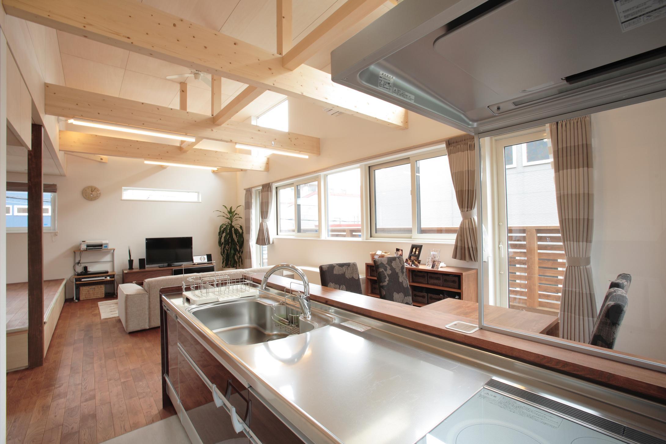 発寒ハウスの写真 対面型キッチン
