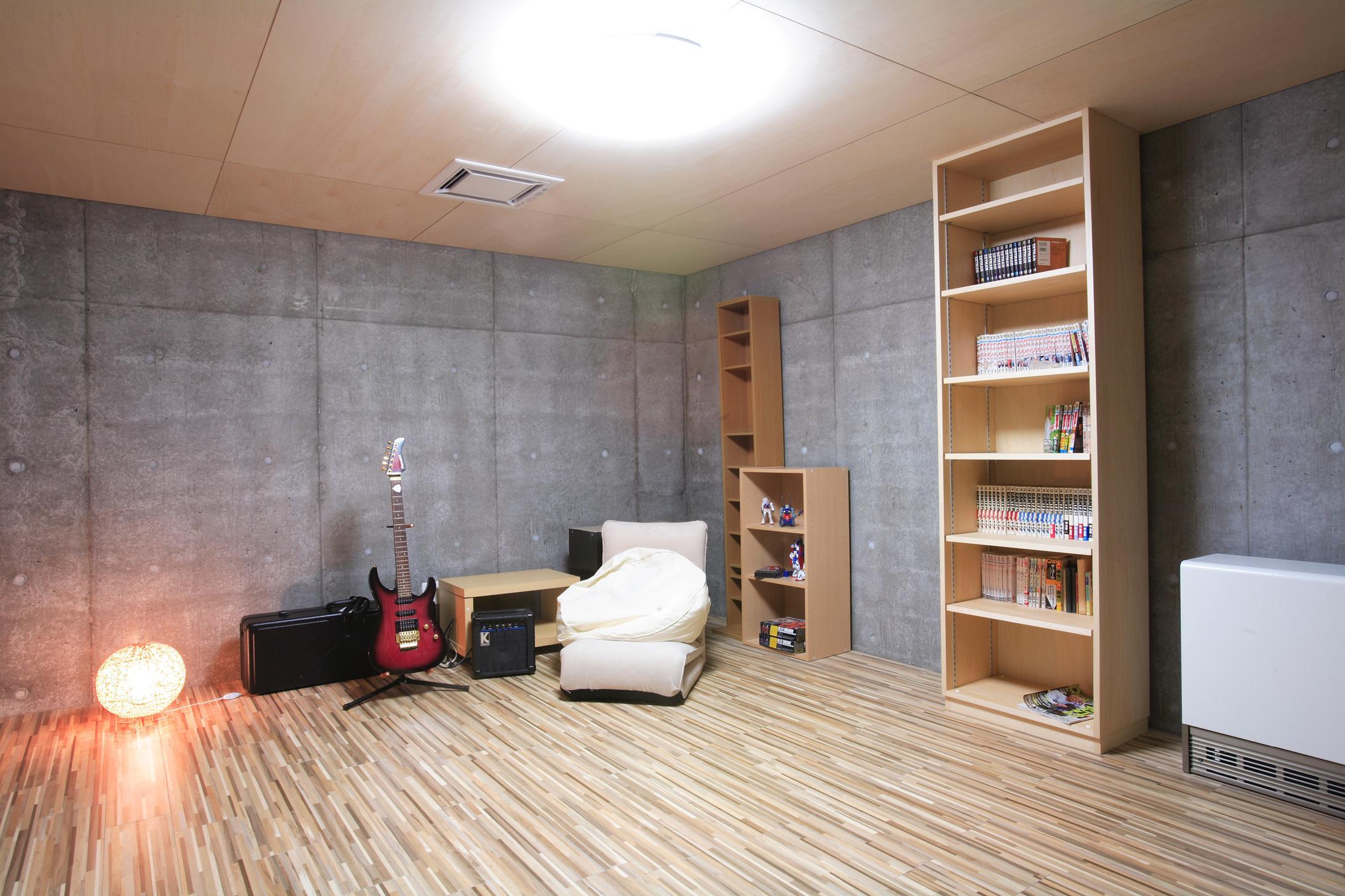 発寒ハウスの写真 地下の防音室
