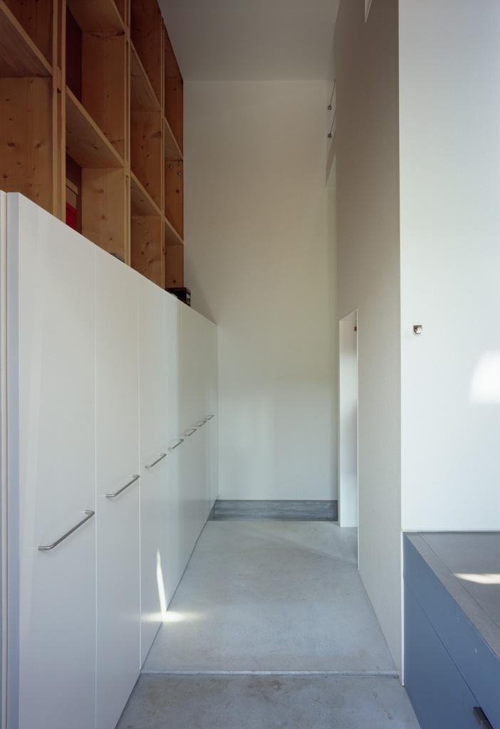 格子の家の部屋 玄関ホール
