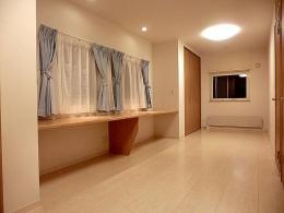 OTARU Y HOUSE (2室に分けずに大きな部屋に)