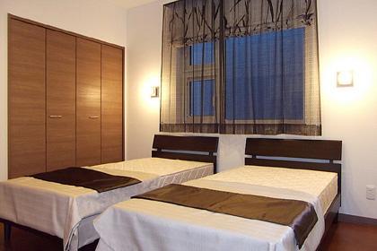 HOKUEI HOUSEの部屋 落ち着きのある寝室