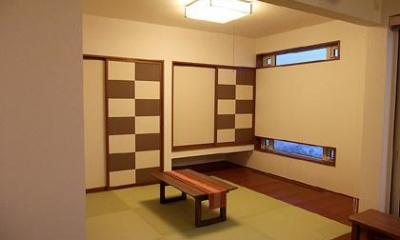 HOKUEI HOUSE (和モダンな和室)