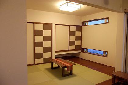 HOKUEI HOUSEの部屋 和モダンな和室