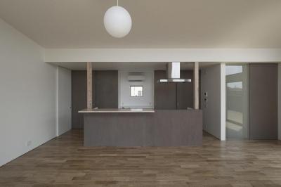 小田原の家 (キッチン)