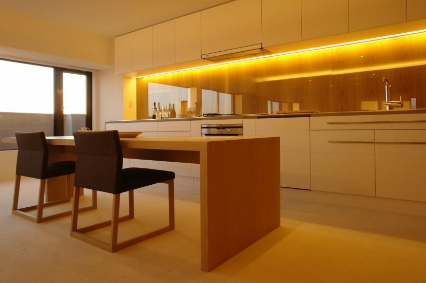 Vent Vert Nampeidai Penthouse (リビングダイニングキッチン2)