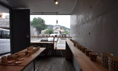 ギャラリーのある家 (1Fは絵画や陶芸等の展示やイベントスペース)