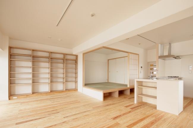東京都大田の家の写真 畳コーナー・明るく広々としたLDK