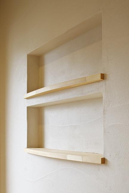 東京都練馬の家の部屋 造作の飾り棚